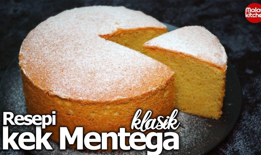 Resepi kek butter | sukatan cawan