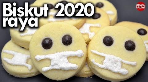 Resepi biskut raya 2020 | Viral dan simple