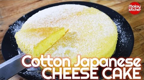 Japanese Cheese Cake | kek keju jepun