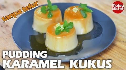 Resepi puding karamel