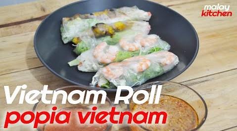 Vietnamese Spring Rolls Recipe | Popia Vietnam